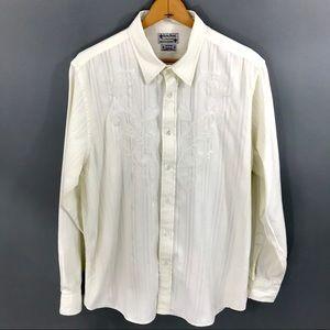 Lucky Brand Mens Button Down Shirt, XL